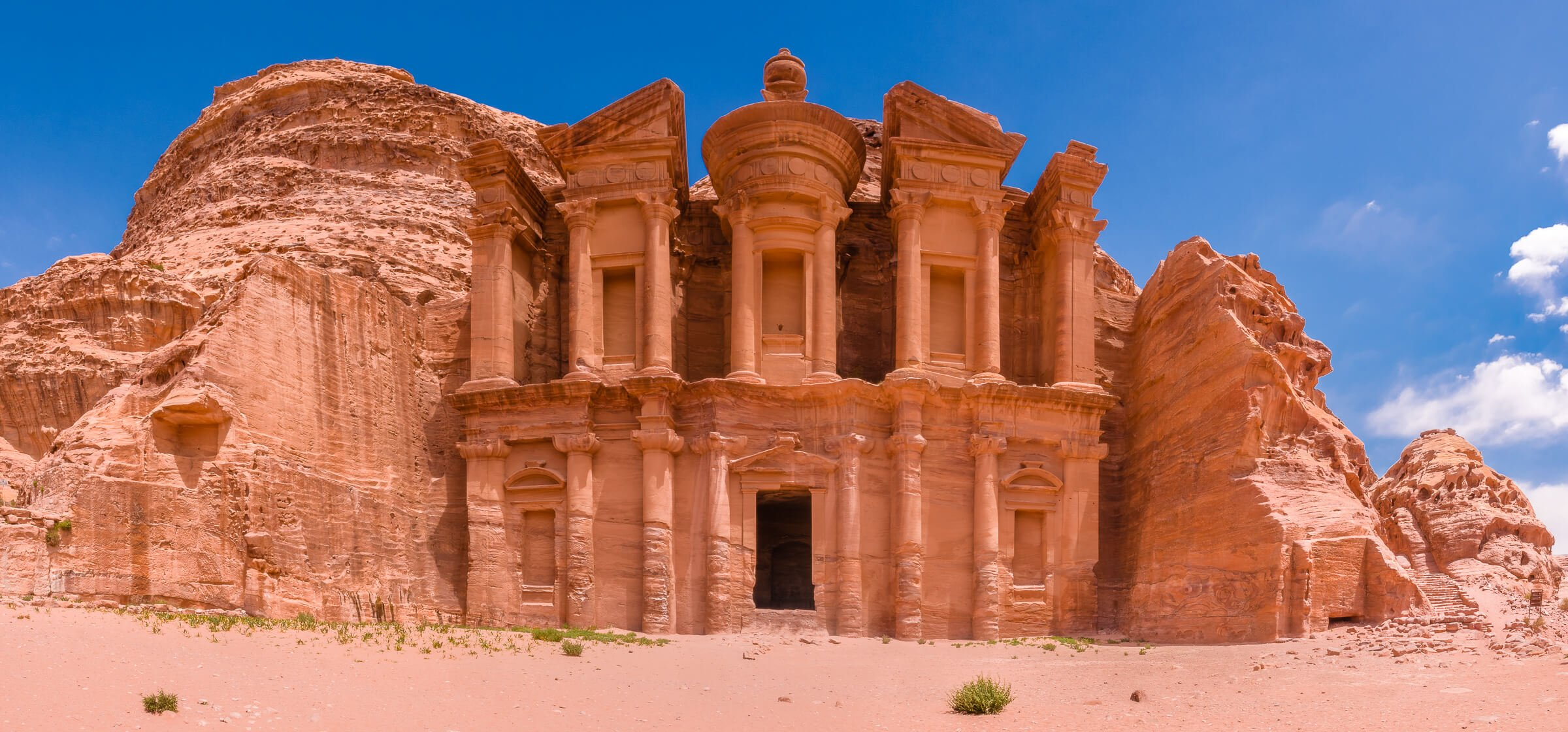 Inside Petra - a Wonder of the World