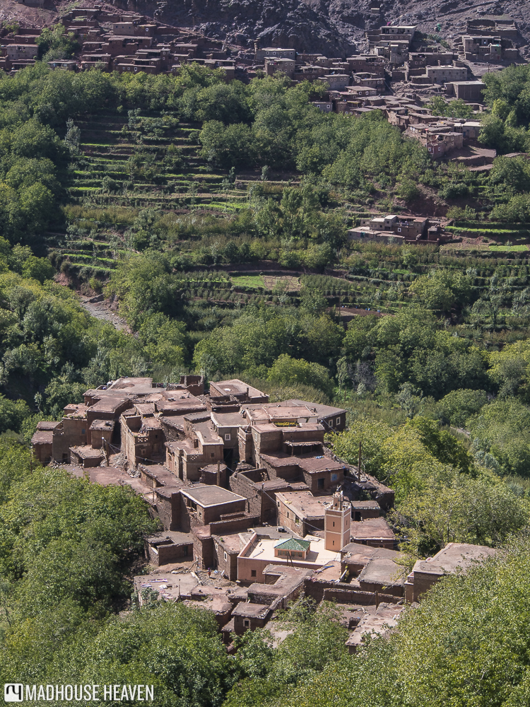 Agrarian Berber villages around the Azzaden lodge - Hiking in the Atlas Mountains