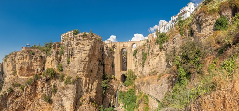 Puente Nuevo Bridge in Ronda, Andalusia, Spain