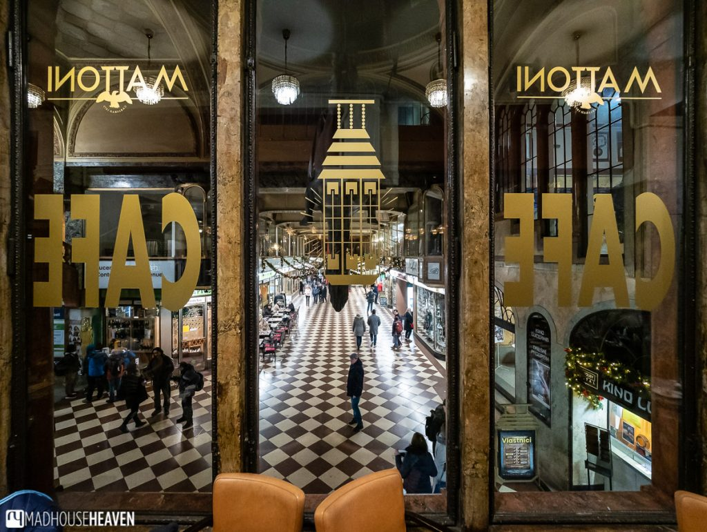 An 18th Century shopping gallery in Prague - the Lucerna Palace