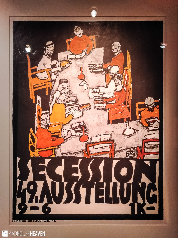 Poster of the 49th Secession Exhibition in Vienna