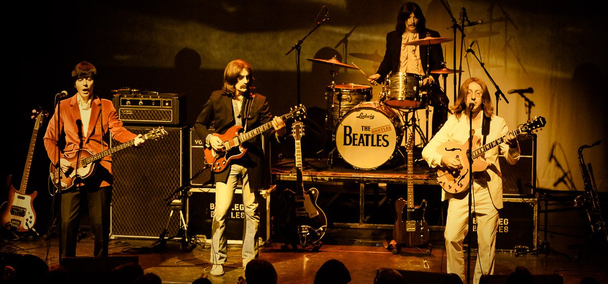 The Bootleg Beatles, live at Paard van Troje, The Hague, the Netherlands