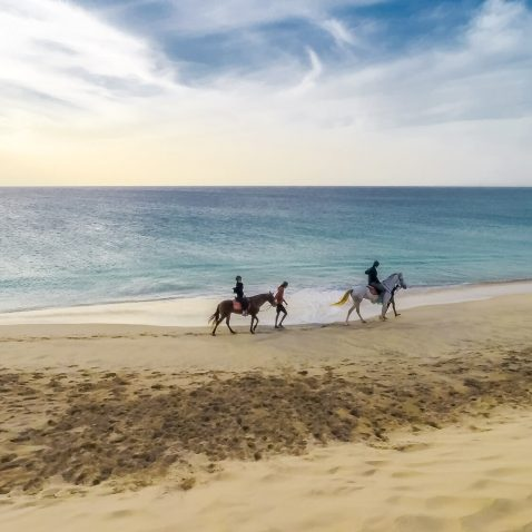 Horse Riding on Sal Island, Cape Verde