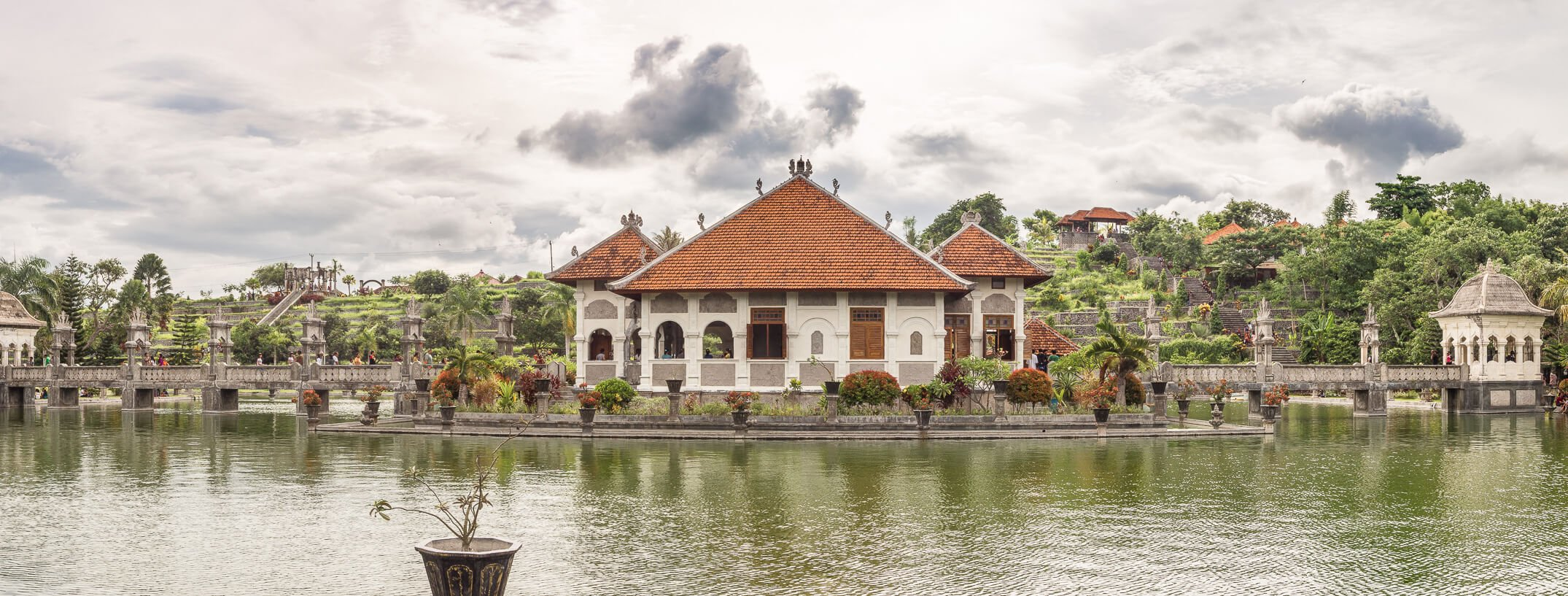 tirta gangga water palace in amed, bali
